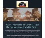 Accredited High School Diploma online, at home, or in class!