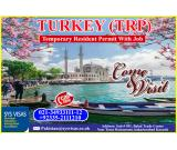 Turkey Visit Visa (TRP) with job