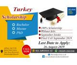 Turkey Scholarship Bachelor Master & PHD