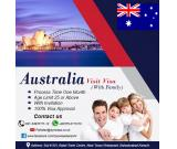 Australia Visit Visa (with family)