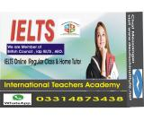 IELTS online Tutor in Kwait 03314873438