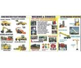 DUMP TRUCK, EXCAVATOR, FRONT END LOADER, TRUCKS, MOBILE CRANE TRAINING